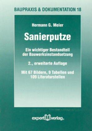 9783816915478: Sanierputze: Ein wichtiger Bestandteil der Bauwerksinstandsetzung (Livre en allemand)