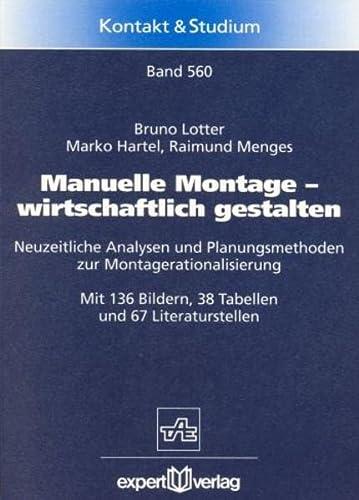 9783816915775: Manuelle Montage, wirtschaftlich gestalten