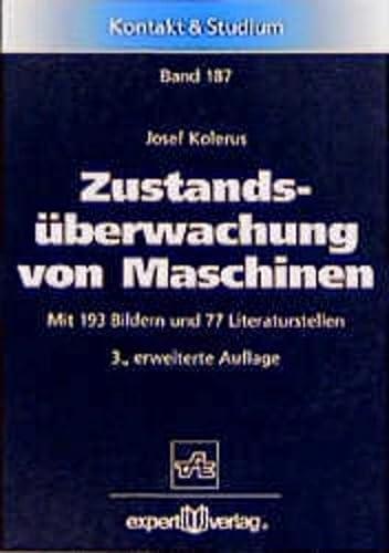 9783816917212: Zustandsüberwachung von Maschinen.