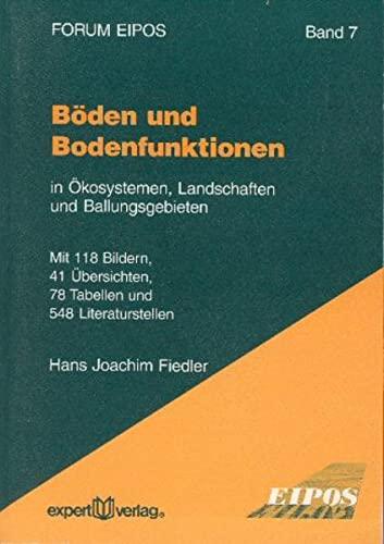 9783816918752: Fiedler, H: Böden