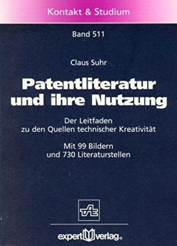 Patentliteratur und ihre Nutzung: Claus Suhr
