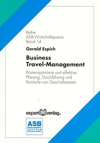 9783816919247: Business Travel- Management.