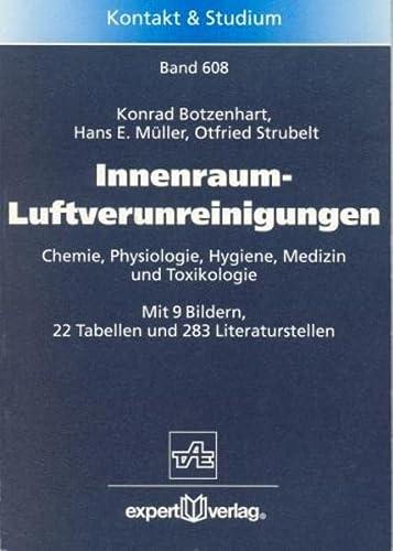 9783816920069: Innenraum-Luftverunreinigungen: Chemie, Physiologie, Hygiene, Medizin und Toxikologie