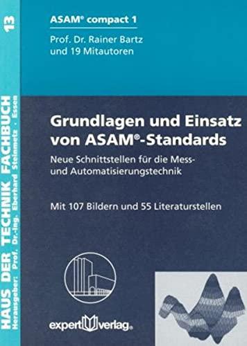 Grundlagen und Einsatz von ASAM-Standards: Rainer Bartz