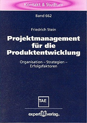 9783816923770: Projektmanagement für die Produktentwicklung.