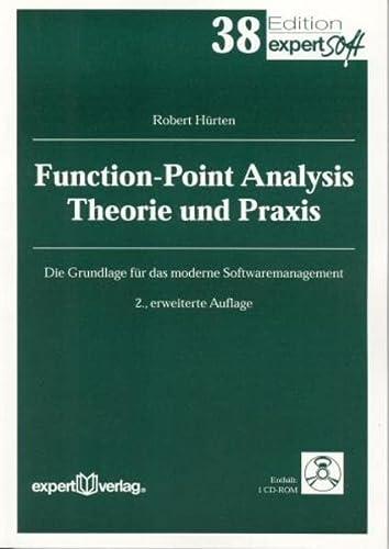 9783816923985: Function-Point Analysis - Theorie und Praxis: Die Grundlage für modernes Softwaremanagement