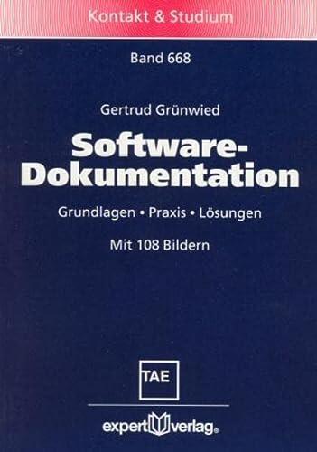9783816924449: Software-Dokumentation.