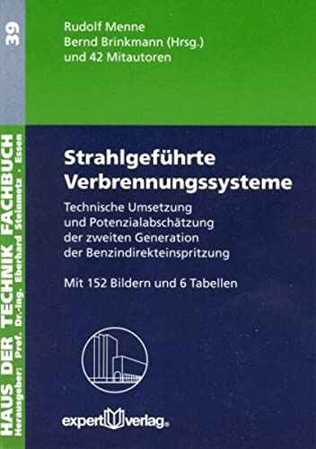 Strahlgeführte Verbrennungssysteme: Rudolf J. Menne