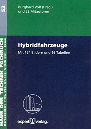 9783816925019: Hybridfahrzeuge