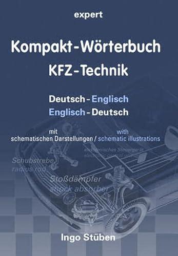 9783816927266: Kompakt-Wörterbuch KFZ-Technik: Deutsch-Englisch / Englisch-Deutsch