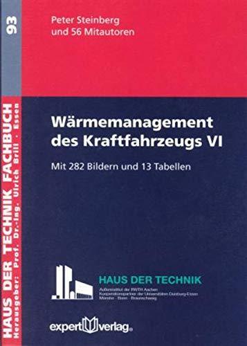 Wärmemanagement des Kraftfahrzeugs 6: Peter Steinberg