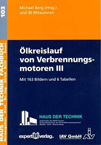 9783816929079:  lkreislauf von Verbrennungsmotoren III