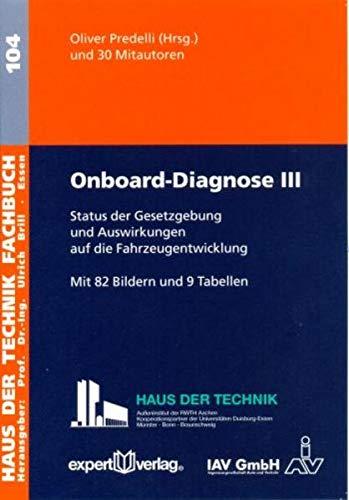 Onboard-Diagnose III: Oliver Predelli