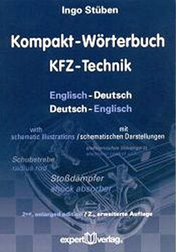 9783816929727: Kompakt-Wörterbuch KFZ-Technik: Englisch-Deutsch / Deutsch-Englisch