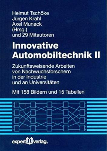 Innovative Automobiltechnik II: Helmut Tschöke