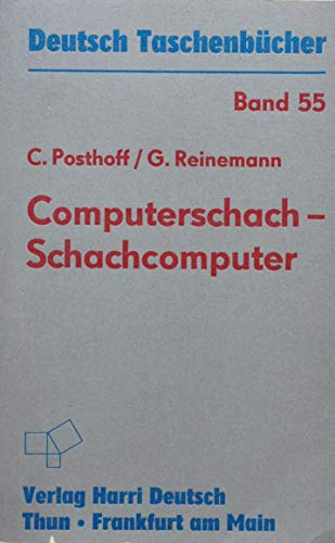 9783817110377: Computerschach - Schachcomputer