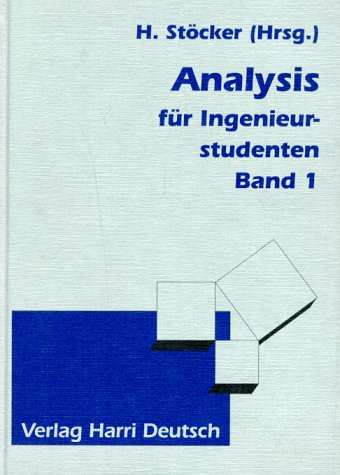 9783817112401: Analysis für Ingenieurstudenten, 2 Bde., Bd.1