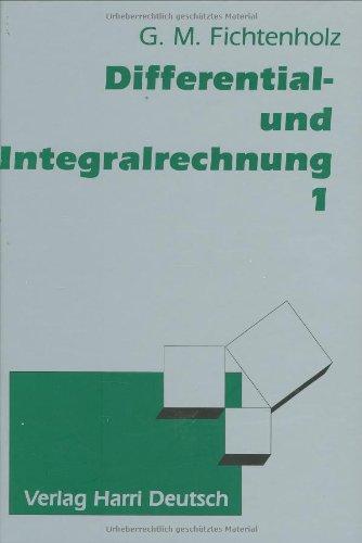 9783817112784: Differential- und Integralrechnung Bd. 1