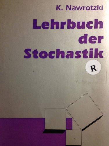 9783817113682: Lehrbuch der Stochastik.