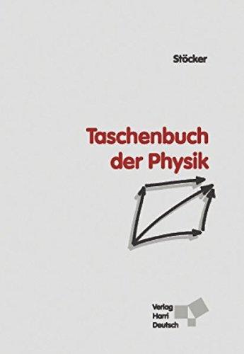 9783817117208: Taschenbuch der Physik: Formeln, Tabellen, Übersichten