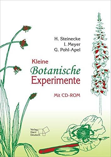 9783817118021: Kleine Botanische Experimente