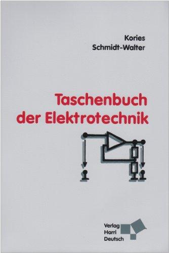9783817118588: Taschenbuch der Elektrotechnik: Grundlagen und Elektronik