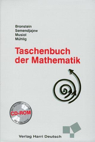 9783817120147: Taschenbuch der Mathematik. Inkl. CDROM. (überarb. u. erw. Aufl.)