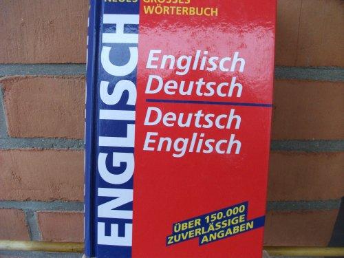 9783817452538: Neues Grosses Wörterbuch - Englisch-Deutsch - Deutsch-Englisch
