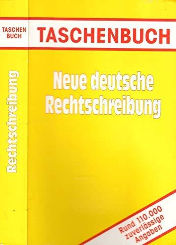 9783817452781: Neue deutsche Rechtschreibung