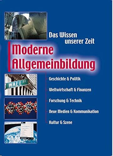 9783817453740: Moderne Allgemeinbildung.
