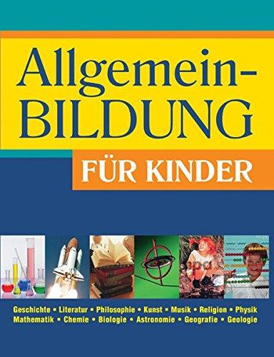 9783817459407: Allgemeinbildung für Kinder
