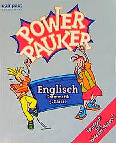 9783817470662: Power Pauker, Englisch Grammatik 5. Klasse