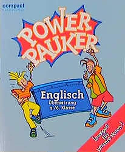 9783817470907: Compact Schülerhilfen Power Pauker. Englisch Übersetzung 5./6. Klasse.