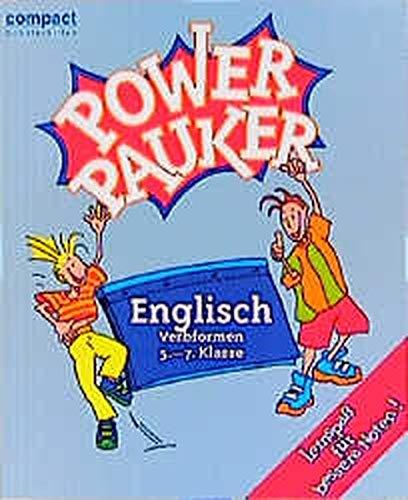9783817470952: Compact Schülerhilfen Power Pauker. Englische Verbformen. 5.-7. Klasse.
