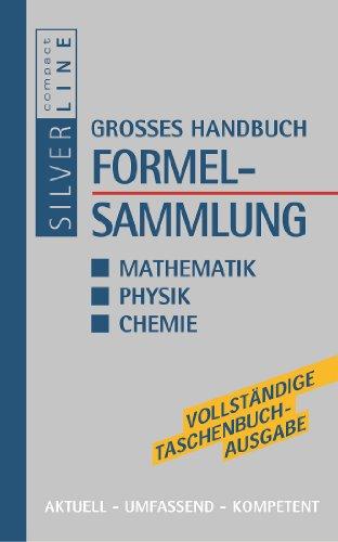 9783817474738: Grosses Handbuch Formelsammlung Mathematik, Physik, Chemie