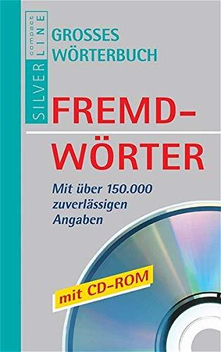 9783817474929: Compact. Großes Wörterbuch Fremdwörter. Mit CD- ROM.