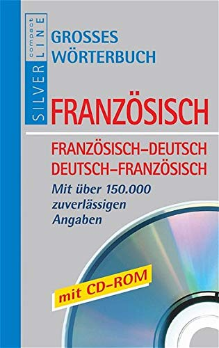 9783817474974: Compact. Großes Wörterbuch Französisch. Mit CD-ROM