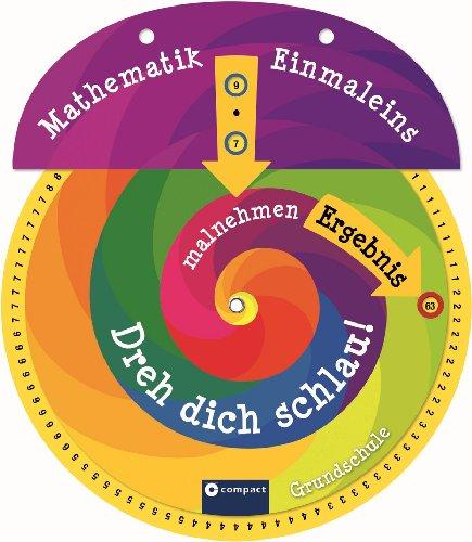9783817489886: Dreh dich schlau! Mathematik - Einmaleins. Drehscheibe für die Grundschule. Multiplikation & Division