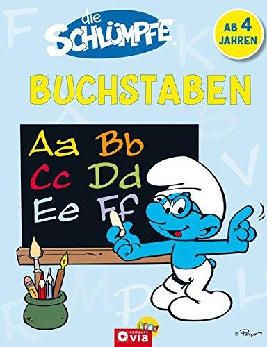 9783817493036: Die Schlümpfe - Buchstaben: Vorschulspaß für Kinder ab 4 Jahren