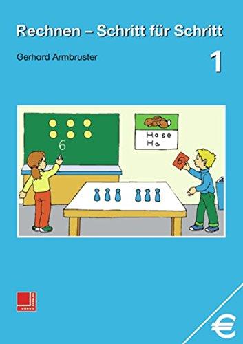 9783818108113: Rechnen Schritt für Schritt 1. Schülerbuch.