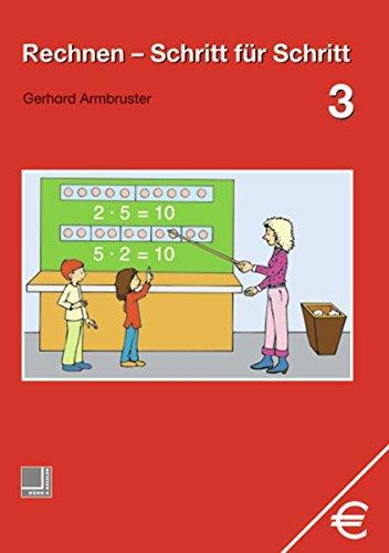 9783818108137: Rechnen Schritt für Schritt 3. Schülerbuch