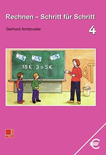 9783818108144: Rechnen, Schritt für Schritt, EURO, Bd.4