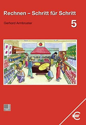 9783818108151: Rechnen Schritt für Schritt 5. Schülerbuch