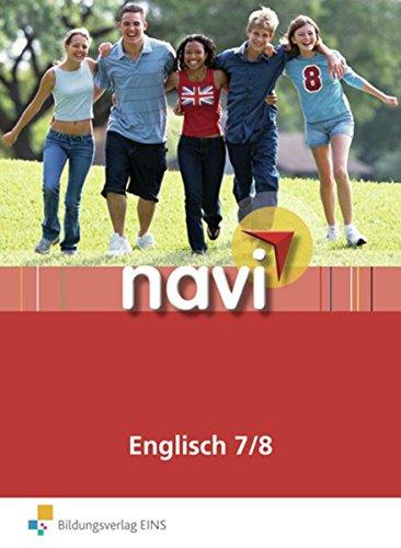 9783818112820: Navi Englisch 7/8. Schülerbuch