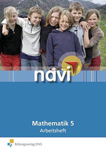 9783818194154: Navi Mathematik 5. Arbeitsheft