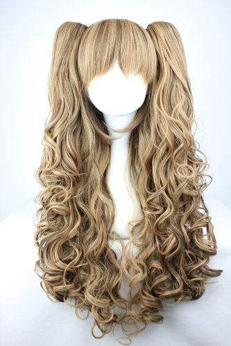 9783818250331: CC-WIG-225A Brown Wig - 65cm Long - For Cosplay / Window Dolls / Carnival / Fancy-Dress Parties
