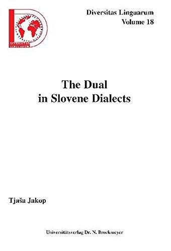 The Dual in Slovene Dialects: Tjasa Jakop