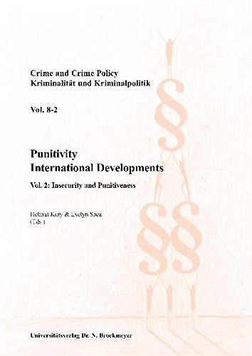 Punitivity International Developments.: Helmut Kury