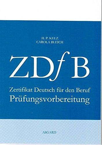 9783819608605: Zertifikat Deutsch für den Beruf