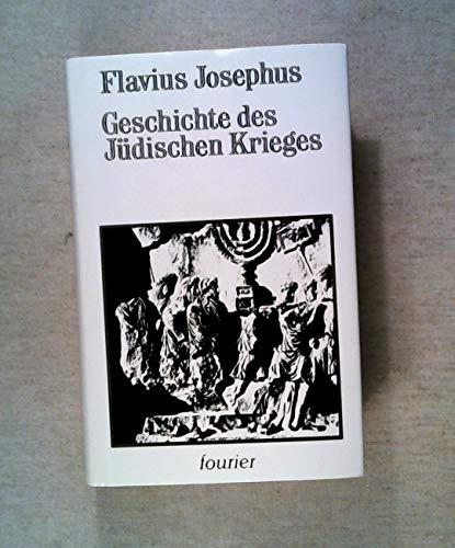 9783820100228: Geschichte des Jüdischen Krieges